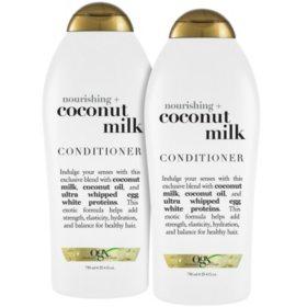 OGX Nourishing Coconut Milk Conditoioner (24.5 fl., oz. 2 pk.)