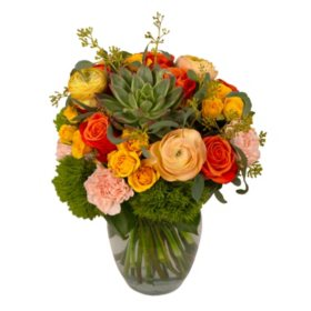 Sunset Romance Bouquet