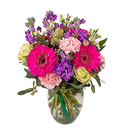 BIRTHDY WISH NO VASE 22 STEMS