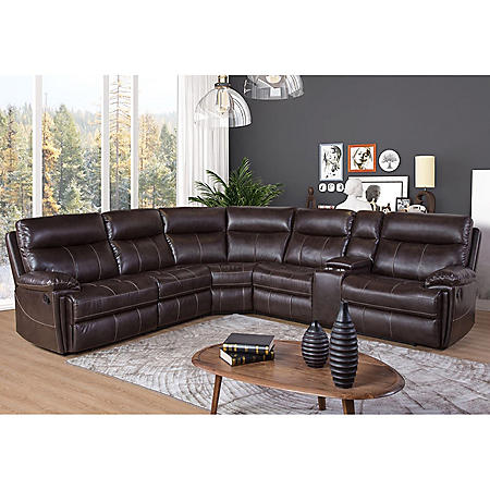 Member's Mark Caterina 6-Piece Reclining Sectional