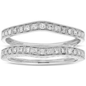 0.33 CT. T.W. Diamond Ring Enhancer in 14K Gold (I, I1)