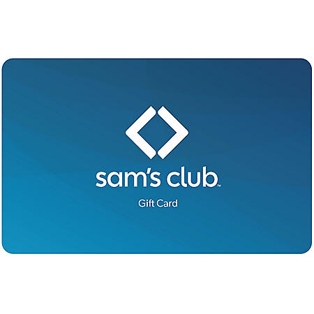 Sam's Club Everday Blue Gift Card - Various Amounts