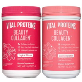 Vital Proteins Beauty Collagen Bundle (9.6 oz., 2 pk)