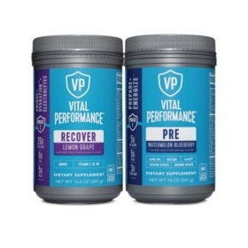 Vital Proteins Performance Collagen Pre and Recover Workout (2 pk)