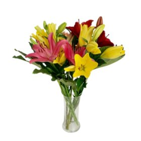 Cheerful Lily Bouquet (Various Arrangement Styles)