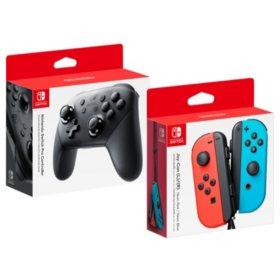 Nintendo Switch Joy-Con  + Pro Controller (Bundle)
