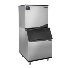 "Maxx Ice 30"" Wide 1,000 lb. Half Dice Ice Machine with 580 lb. Bin"