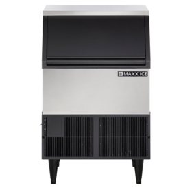 Maxx Ice Undercounter, Stainless Steel, Self-Contained Ice Machine, Air Cooled - NSF & UL Rated for Commercial Use (250 lbs.)
