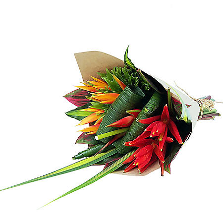 Foulard Coccinea Tropical Bouquet