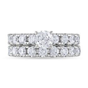 2.95 CT. T.W. Bridal Set in 14K Gold