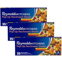 Reynolds Kitchens Pop-Up Parchment Paper Sheets (35 sheets/pk., 3 pk.)