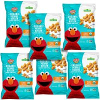 Earth's Best Organic Toddler Snacks, Peanut Butter Baked Corn Puffs (2.5 oz., 6 ct.)