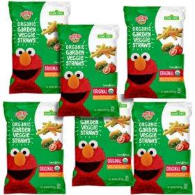 Earth's Best Organic Toddler Snack, Veggie Straws (2.5 oz., 6 ct.)