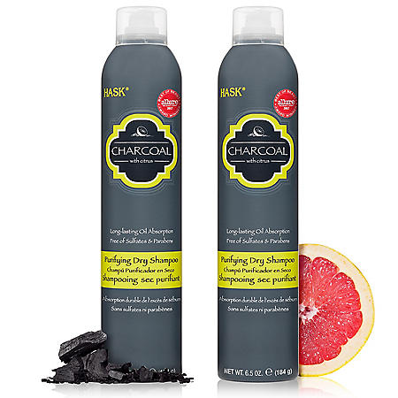 HASK Charcoal Purifying Dry Shampoo (6.5 oz., 2 pk.)