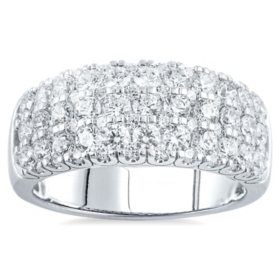 2.00 CT. T.W. Classic Pave Diamond Ring in 14K White Gold