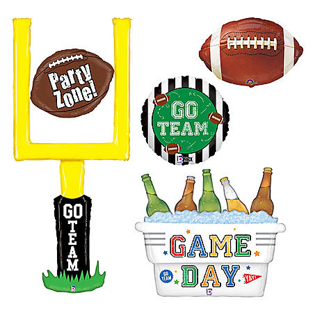 Football Package, Foil Balloons (16 pk.)