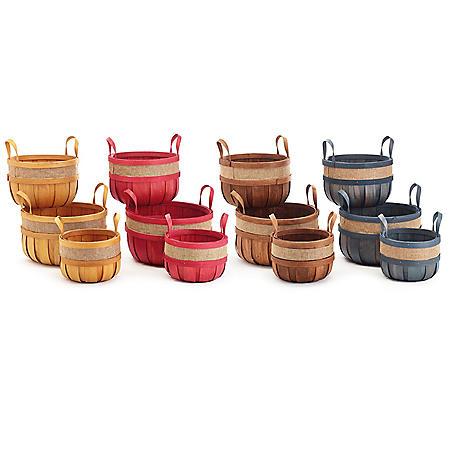 Fall Baskets, Assorted (12 pk.)