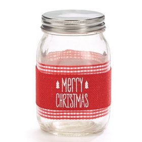 Holiday Mason Jar (9 pk.)