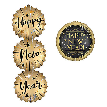 Happy New Year Foil Balloons (11 pk.)