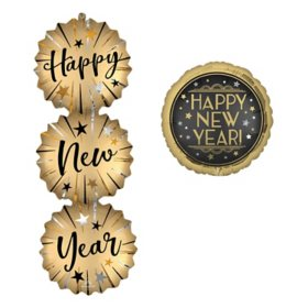 Happy New Year Foil Balloons (11 pk.)