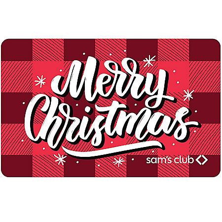 CHRISTMAS CABIN $50 SAMS GC