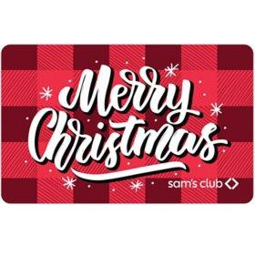 Sam's Club Gift Card (Christmas Cabin) - Various Amounts