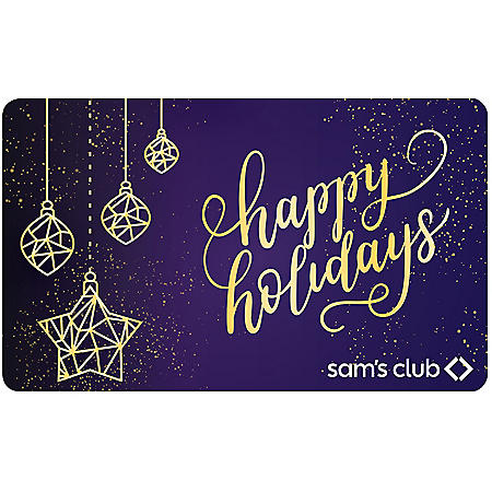 ROYAL CHRISTMAS $70 SAMS GC