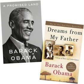 A Promised Land/Dreams from My Father Bundle