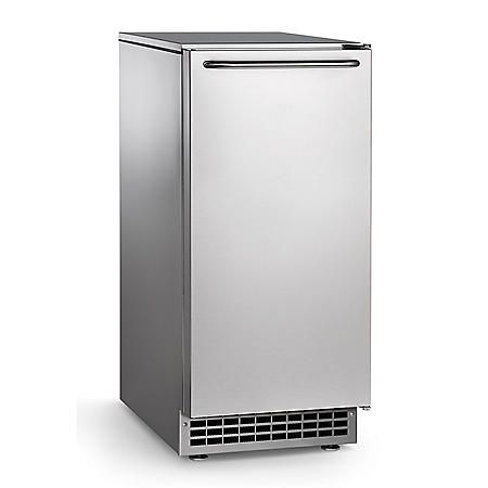 Scotsman Undercounter Ice Machine, Gourmet Cube (Pump Drain, 65 lbs.)