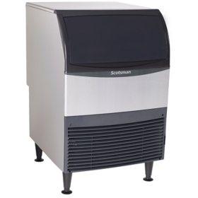 "Scotsman 24"" Wide Undercounter Ice Machine, Half Dice (200 lbs.)"