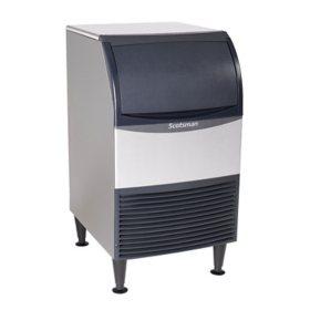 "Scotsman 20"" Wide Undercounter Ice Machine, Nugget Ice (167 lbs.)"