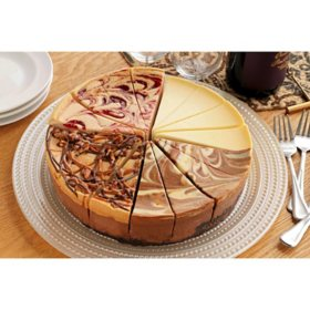Suzy's Classic Sampler Cheesecake (72 oz.), delivered to your doorstep