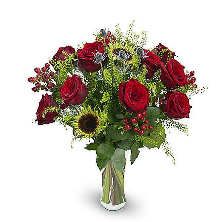 Premium Black is Black Mixed Rose Bouquet