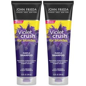 John Frieda Violet Crush Purple Shampoo (8.3 fl., oz. 2 pk.)