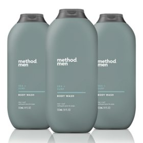 Method Men, Sea + Surf Body Wash (18 fl. oz., 3 pk.)