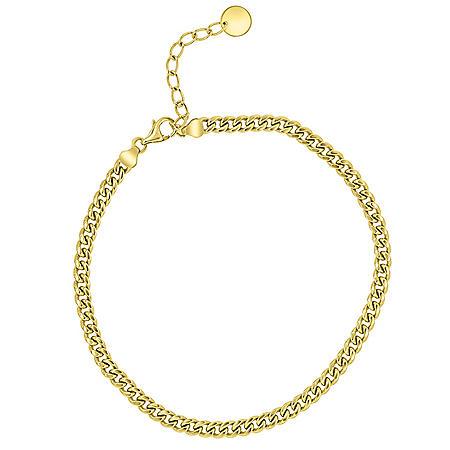 14K Yellow Gold Curb Bracelet