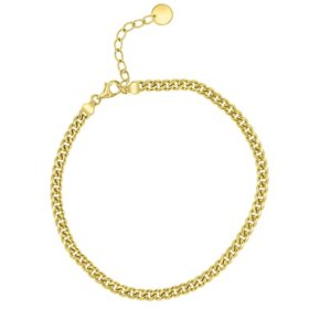 14K Yellow Gold Curb Bracelet