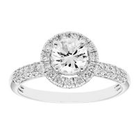 1.25 CT. T.W. Round Diamond Engagement Ring in 14K Gold (I, I1)