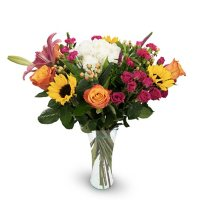 Premium Happiness Under the Sun Mixed Bouquet, Fall