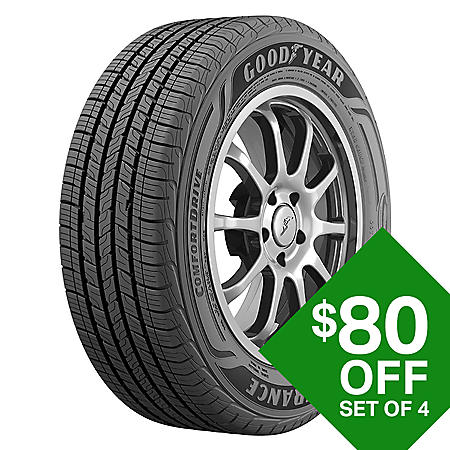 Goodyear Assurance ComfortDrive - 225/60R18 100H Tire