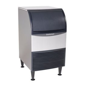 "Scotsman 20"" Wide Undercounter Ice Machine, Cube Ice (100 lbs.)"