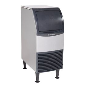 "Scotsman 15"" Wide Undercounter Ice Machine, Nugget Ice (80 lbs.)"