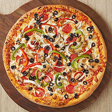 """Member's Mark Hot Baked Deluxe Pizza (16"""" Round) - Available for Curbside Pickup"""