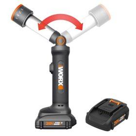 WORX 20V Power Share Multi-Function LED Flashlight(Free Extra Battery)