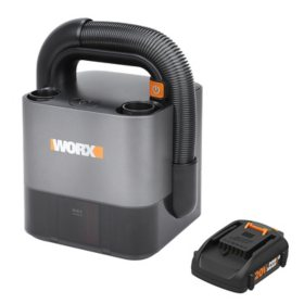 WORX 20V Power Share Cordless Portable Compact Vacuum(Free Extra Battery)