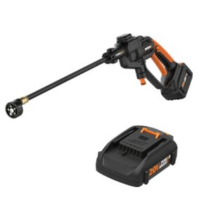 WORX  20V Li-ion 320 PSI (4.0Ah) HydroShot Portable Power Cleaner(Free Extra Battery)