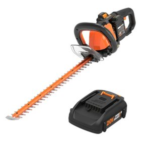 "WORX 40V Power Share Cordless 24"" Hedge Trimmer(Free Extra Battery)"