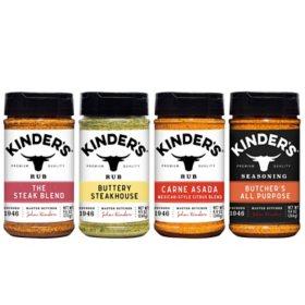 Kinder's Butcher's Seasoning Pack (4 pk.)