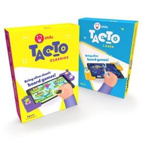 Shifu STEM Bundle - Laser Interactive Board Game (Ages 5 - 10) and Classic Interactive Board Game (Ages 4+)