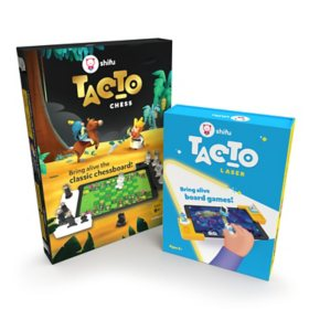 Shifu STEM Bundle - Laser Interactive Board Game (Ages 5 - 10) and Chess Board Set (Ages 6 - 10)
